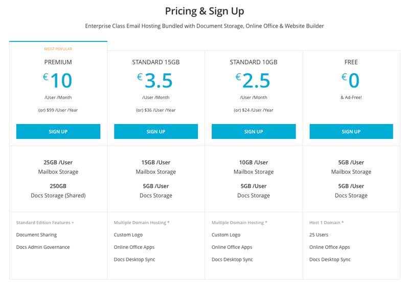 zoho-mail-pricing