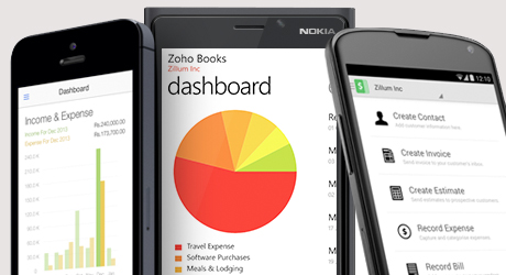 Zoho books sign up
